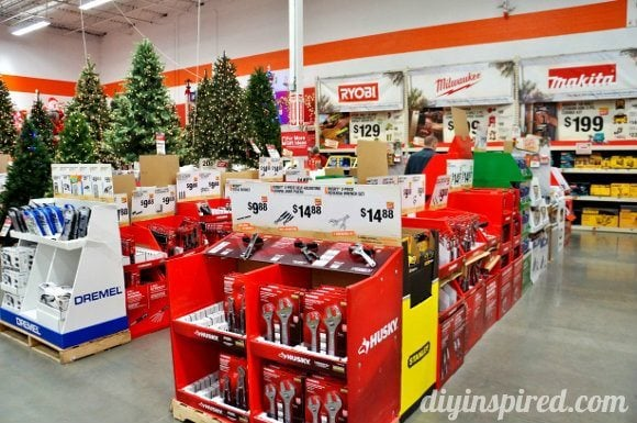 Holiday Shopping with Home Depot DIY Inspired