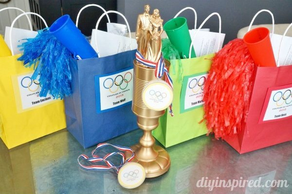 Couples Olympics Games and Ideas - DIY Inspired
