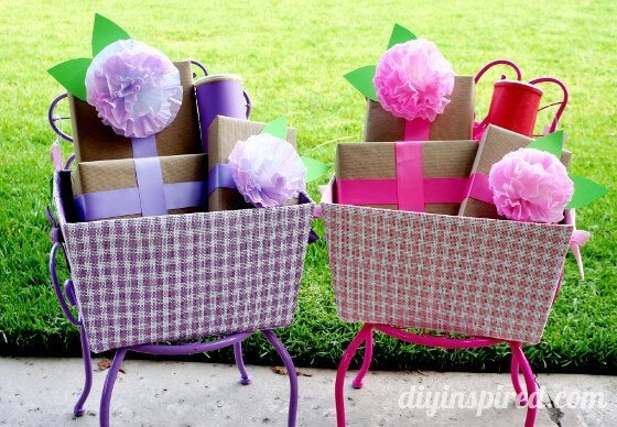 First Birthday Gift Wrap 9 Eco Friendly Wrapping Ideas Diy Inspired Babys 1st Basket