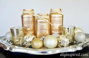 easy-metallic-mason-jar-centerpiece