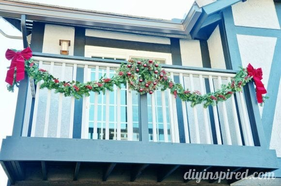 apartment balcony christmas decorations cool balcony decor ideas - Apartment Balcony Christmas Decorating Ideas