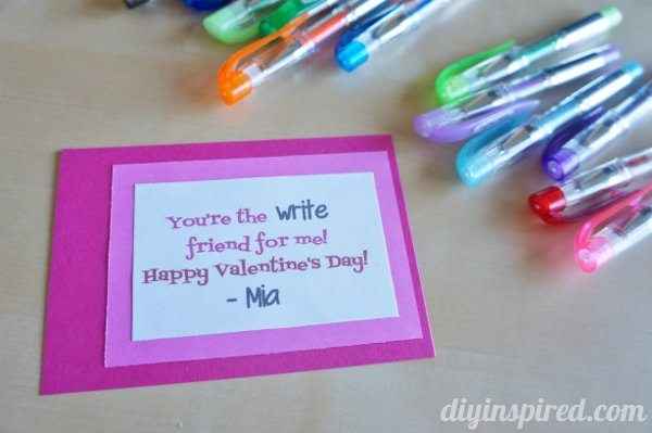 easy homemade valentines for school 1 - Valentines For School
