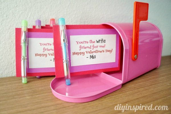Easy Homemade Valentines For School (2)
