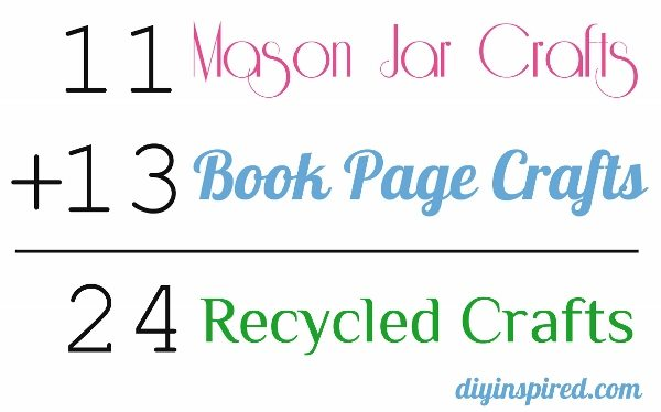 Mason Jar Crafts Book Page