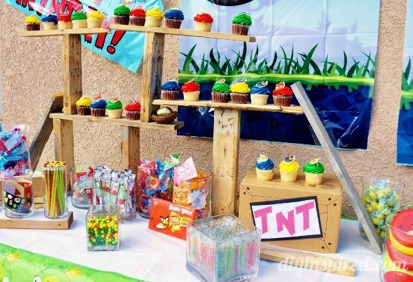A guide to the ultimate diy angry birds party diy inspired for Angry birds party decoration ideas