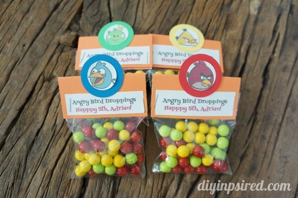 easy diy angry birds party favors diy inspired