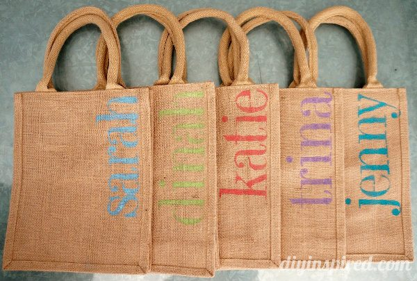Diy Bachelorette Party Favor Bags Diy Inspired