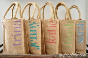 DIY Bachelorette Party Gift Bags