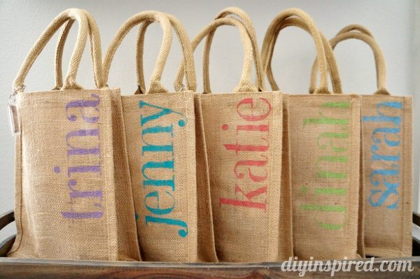 Diy Bachelorette Party Favor Bags