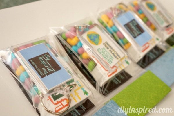DIY Customized Swag Bags