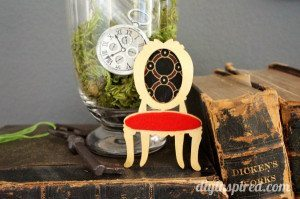 Mad Hatter Tea Party Chair Centerpieces