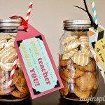 Cookie Mason Jar Teacher Appreciation Gift (2)