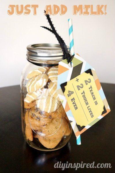 Cookie Mason Jar Teacher Appreciation Gift