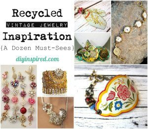 Recycled Vintage Jewelry Inspiration