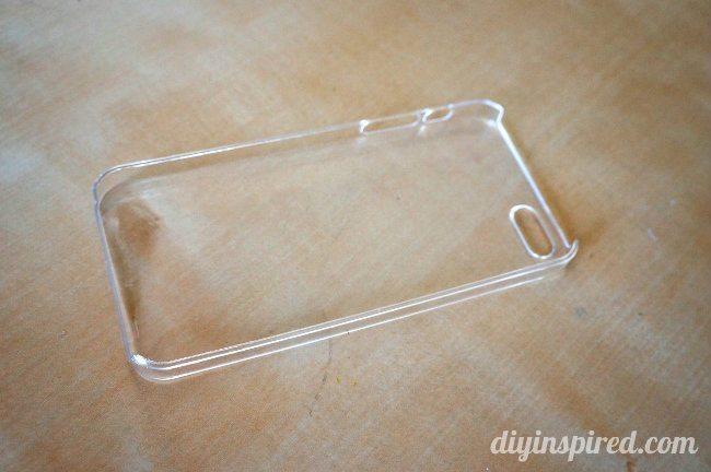 Repurposed DIY Cell Phone Case