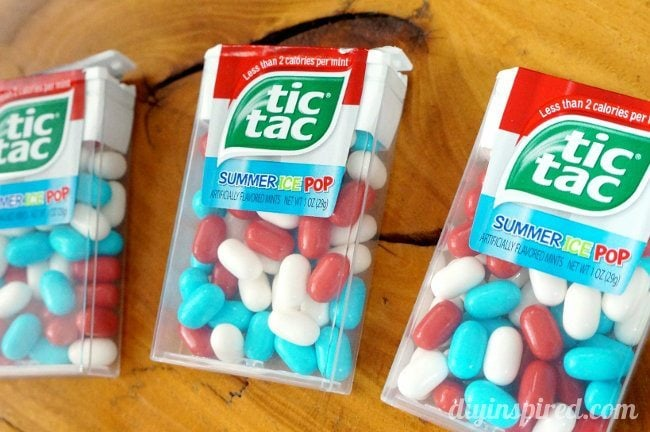 Repurposed Tic Tac Pack Gift