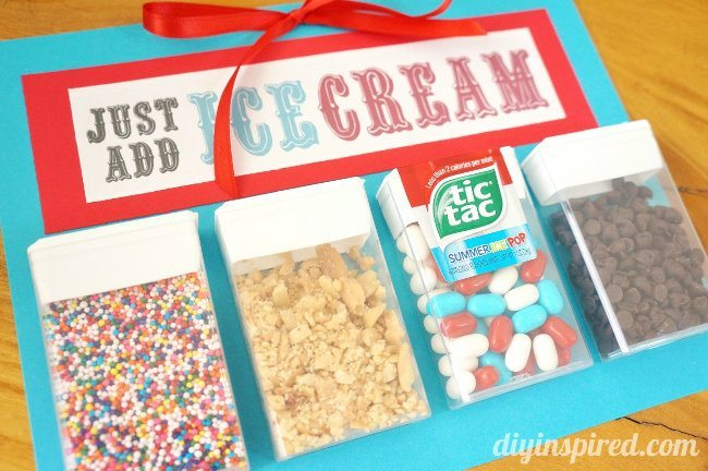 Repurposed Tic Tac Pack Hostess Gift
