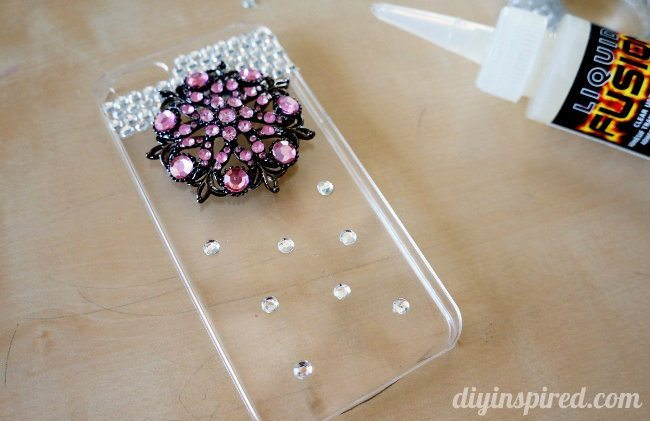 Upcycled DIY Cell Phone Case