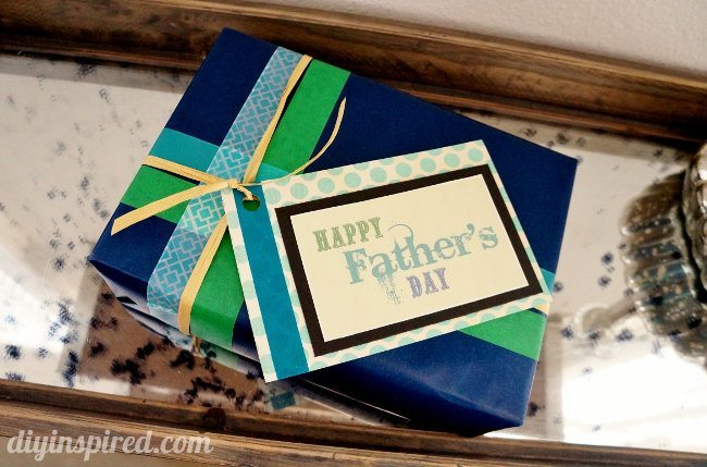 eco-friendly father's day gift wrapping