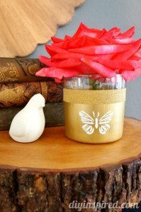 recycled candle craft