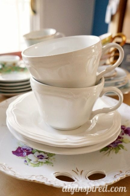 Easy upcycled thrift store tea cups diy inspired tea party tea cups fandeluxe Epub