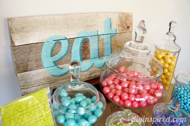 Alice in Wonderland Tea Party Candy Favors