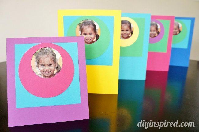 DIY Cards School Photo