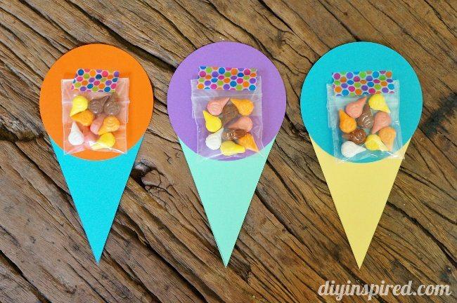 DIY Ice Cream Themed Invites