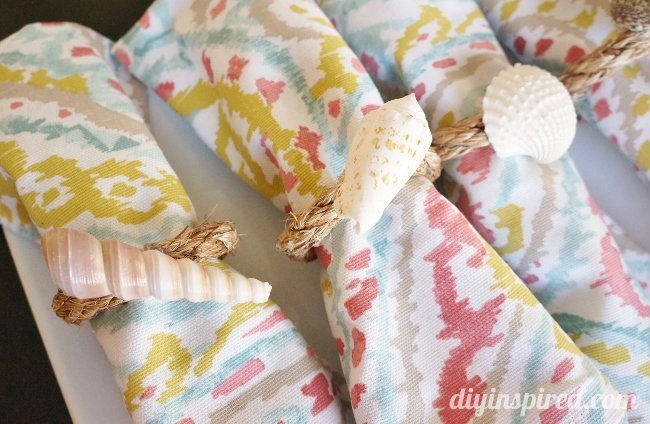 Easy Nautical DIY Napkin Rings