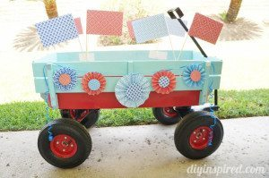 Fourth of July Parade Wagon (1)