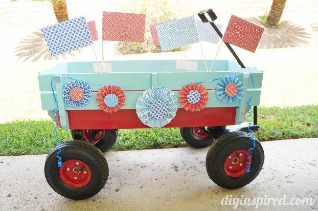 Fourth of July Parade Wagon (1)