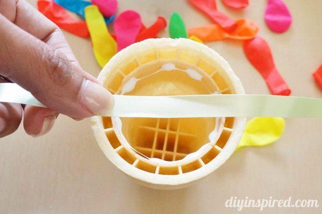 Ice Cream Cone Party Banner DIY (3)