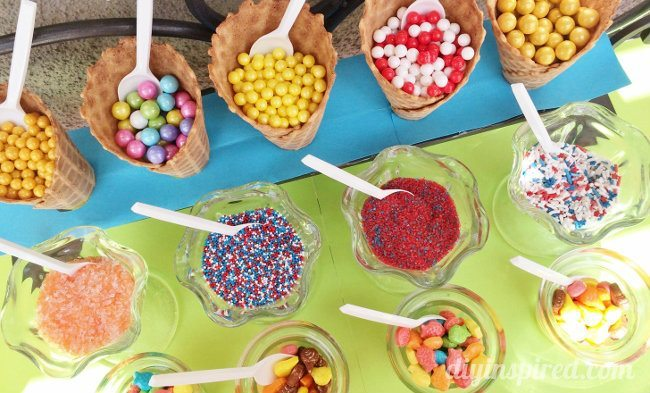 Ice Cream Party DIY Ideas
