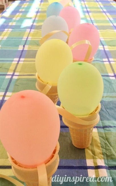 Ice Cream Party Decorations DIY (1)