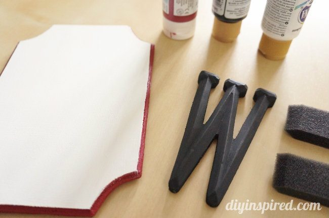 Monogram Wooden Wagon Plaque DIY (1)