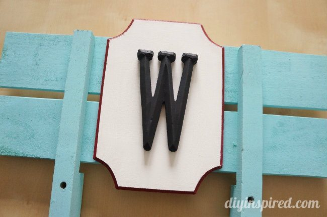 Monogram Wooden Wagon Plaque DIY (3)