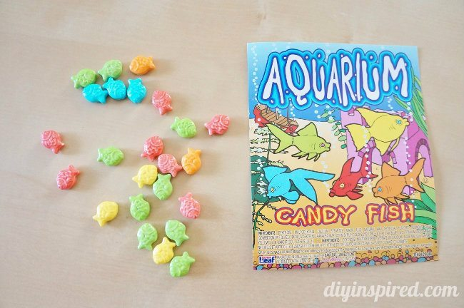 Summertime Aquarium Fish Candies