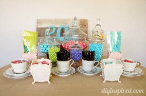 Tea Party Candy Station