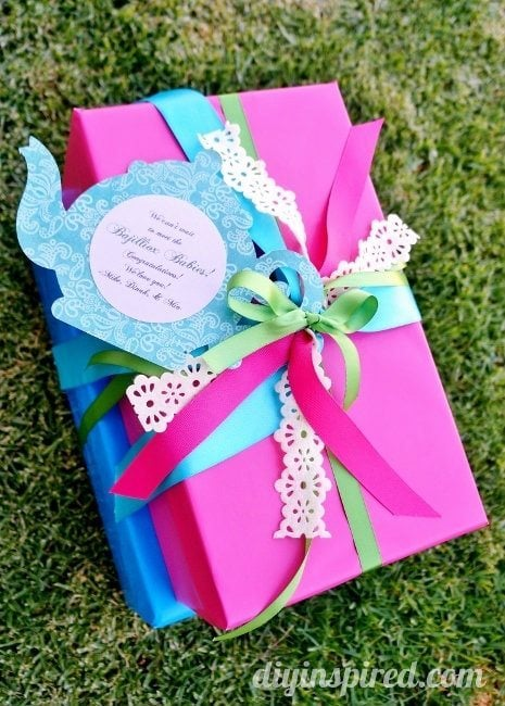 Tea Party Themed Gift Wrapping (4)