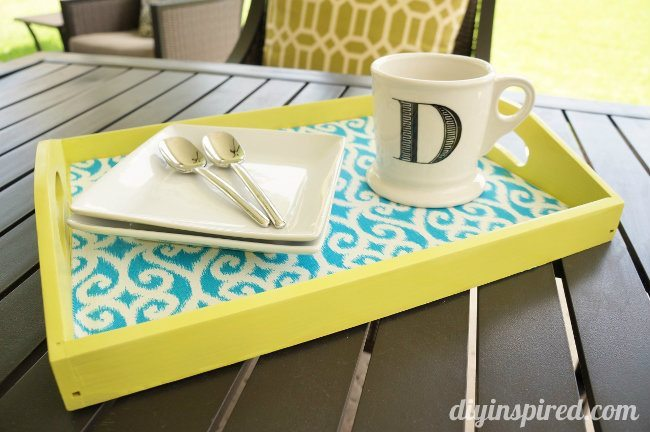 Trash to Treasure DIY Serving Tray How To