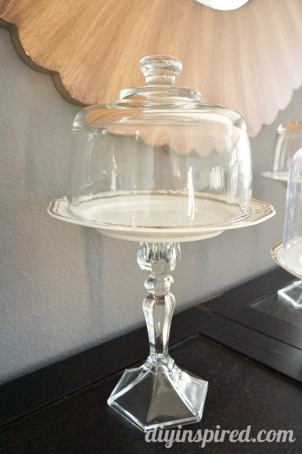 Upcycled Thrift Store DIY Cake Stands
