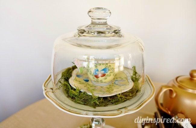 Vintage Mad Hatter Tea Party Teacups (2)