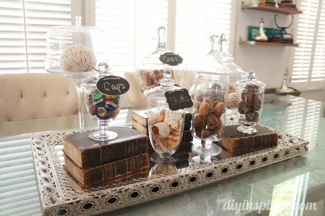 Apothecary Jar Collection Centerpiece Diy Inspired