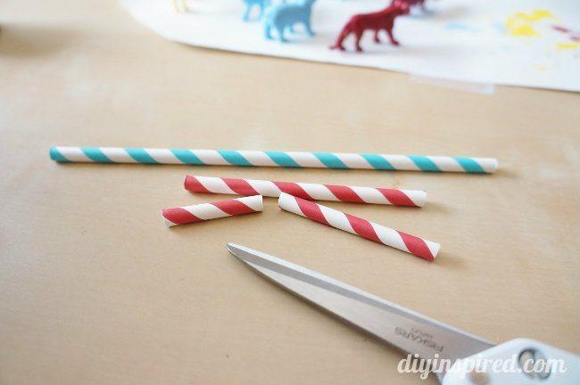 Circus Cake Topper DIY