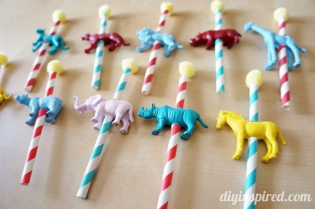 Circus Cupcake Topper Decoration