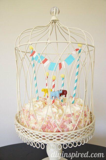 Circus or Carnival Cupcake Topper