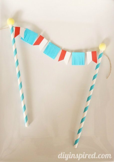 DIY Circus Theme Cake Topper (2)