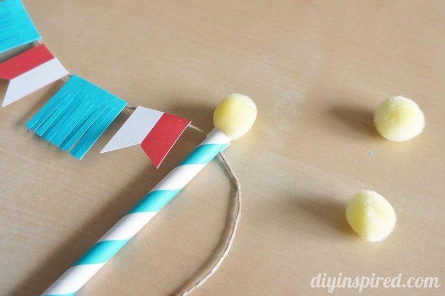 DIY Circus Theme Cake Topper (5)