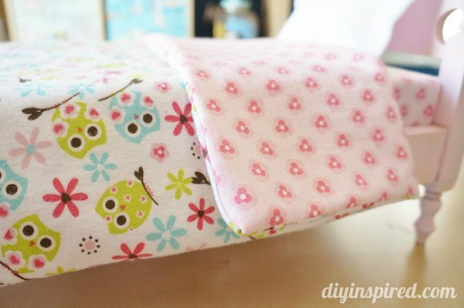 DIY Doll Bedding Reversible