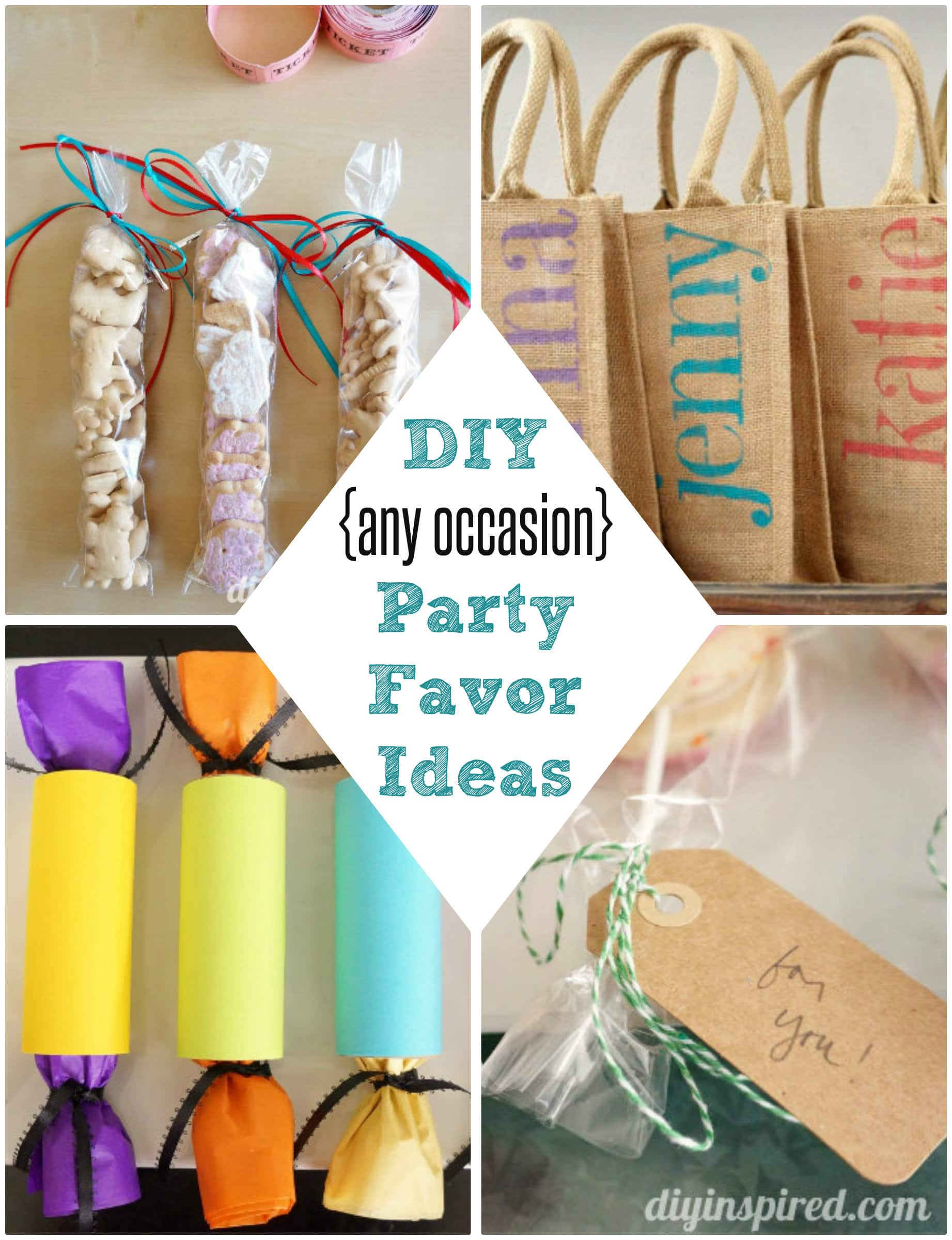 Diy Party Favor Ideas Diy Inspired